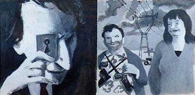 Deux dessins de Pascal Rabaté inspiré du film Louise Michel