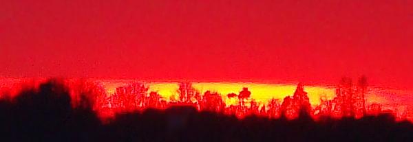 échantillon du soleil couchant du 17 février 2009