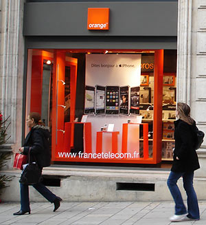 Perigueux rue Taillefer boutique Orange France Telecom