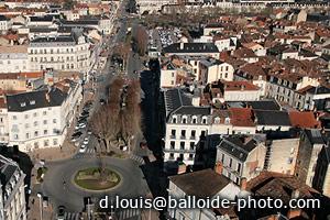 Périgueux Place Charles De Gaule et Boulevard M. Montaigne