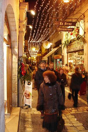 Rue Limogeane Périgueux Noël 2007