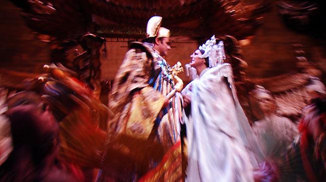 Turandot à l'opéra Metropolitan de New York