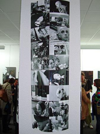 Vernissage de Xavier Boisserie à l'App'Art en avril 2009
