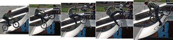 Acrobatie vélocipédique