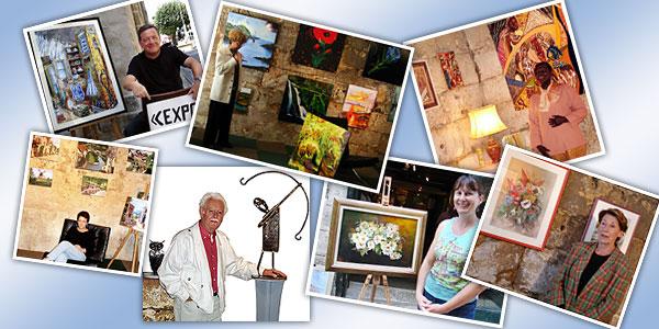 Des amis artistes à l'Art Nôtre de Périgueux de 2005 a 2007
