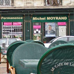 Ancienne permanence Michel Moyrand sur la rue Saint-Front