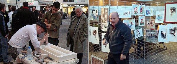 Artisan et Jean Lafon peintre