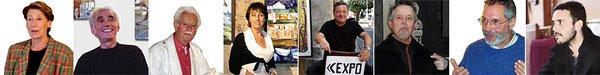 Autres critiques d'artistes - Colette Moreau, Jean-Paul Lamothe, René Ventenat, Brigitte Mathieu, Christian Panissaud, Daniel Faure, Sereirrof, Nicolas Lux
