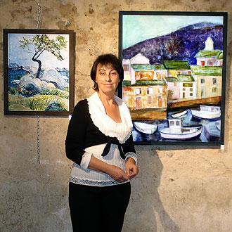 Brigitte Mathieu peintre Dordogne