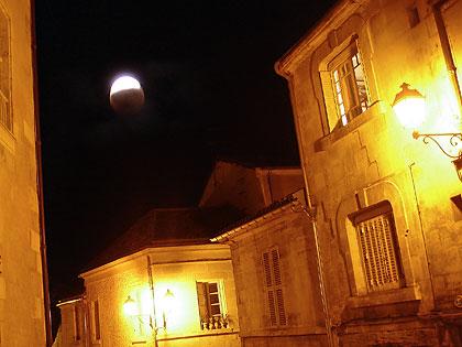 Éclipse de lune partielle du 16 août 2008 sur Périgueux