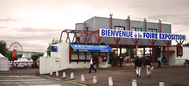 L'entrée de la Foire Expo à Périgueux en septembre 2009