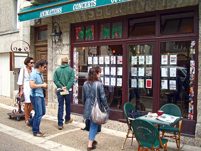 Expoésie au Café de la Place à Périgueux en 2009