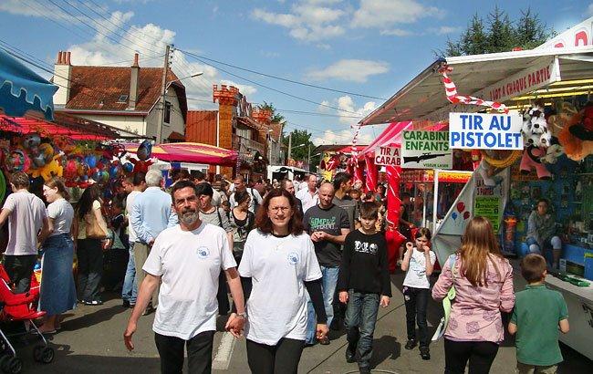 La fête de la Saint Georges le 3 mai 2009