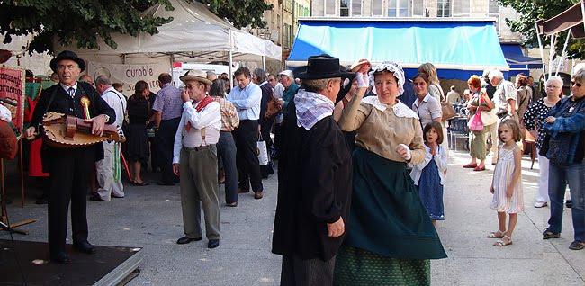 Concours de pâté en septembre 2009 sur la place Saint-Louis