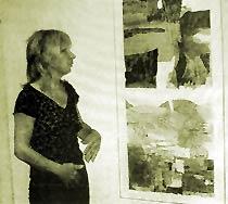 Helen Hill, artiste à Périgueux, France