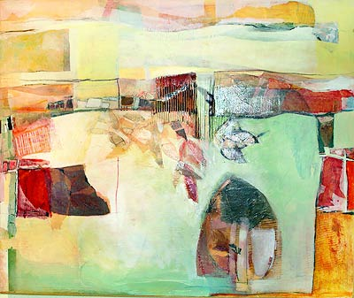 Helen Hill, collages