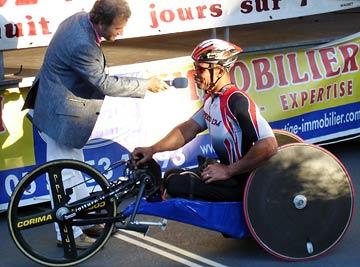 Joël Jeannot interview à Périgueux Juillet 2007