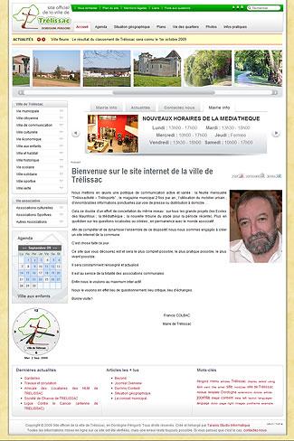 Le site officiel de la commune de Trélissac en Dordogne (24)