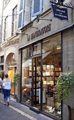 La librairie La Mandragore