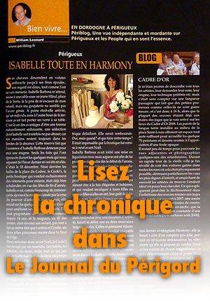 Lisez la chronique d'Isabelle Barbosa