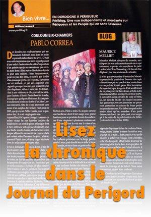 Lisez la chronique sur Pablo Correa