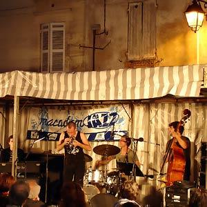 Mederic Collignon Quartet au Macadam Jazz à Périgueux