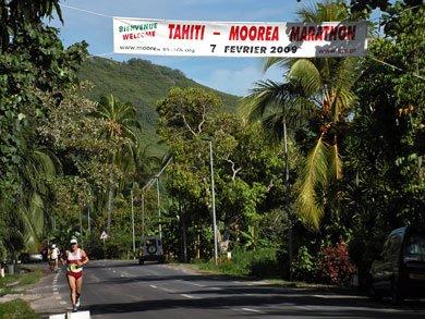 Marathon de Moorea 7 février 2009