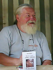 Maurice Melliet - durant un vide-grenier en 2007