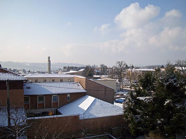 Périgueux sous la neige le 10 janvier 2010