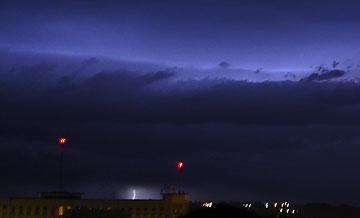Ciel d'orage sur Périgueux
