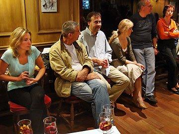 Sophie MANET, Gérard GUY, Jacques PYRAT, Agnès PYRAT, Bernard FAGOT, ?