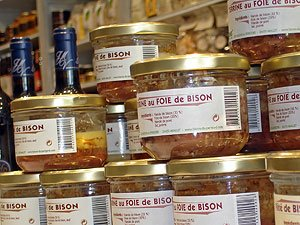pâtés et terrines de bison