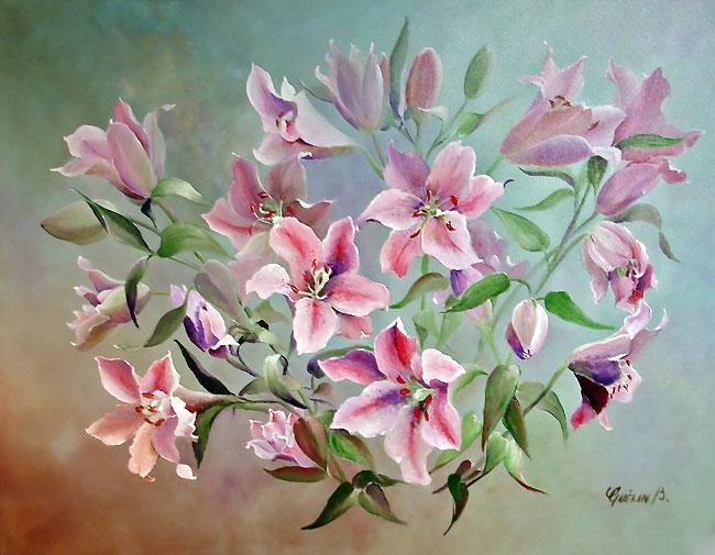 Peinture de Brigitte Quelin peintre en Dordogne