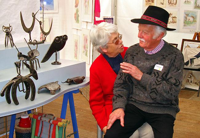 René Ventenat et son épouse