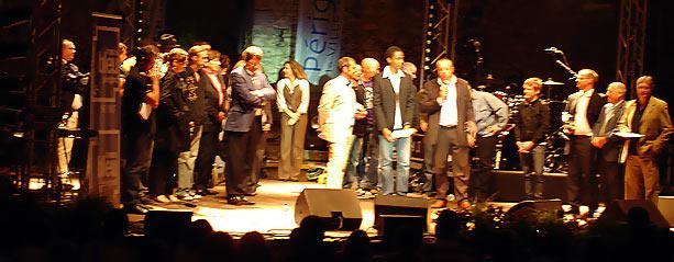 La Truffe d'Argent 2007 Périgueux, Xavier d'Arcos et Stephan Rizon