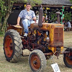 Le tracteur gagnant...