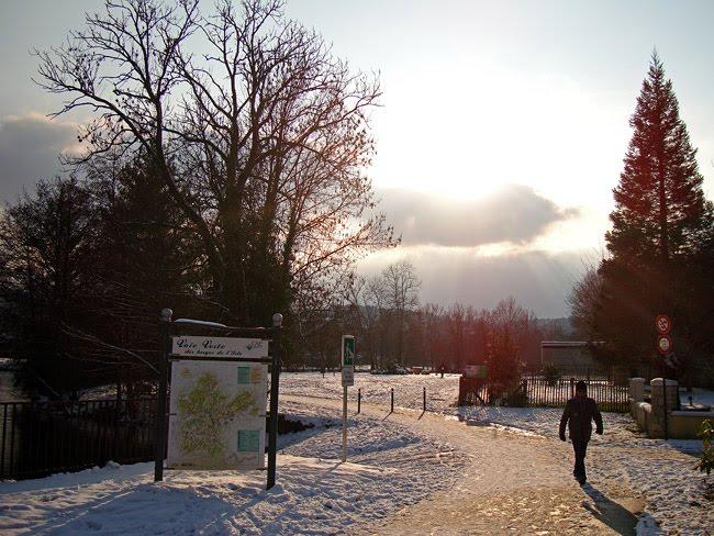 La Voie Verte sous la neige le 10 janvier 2010