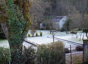 La voie verte, un jardin gelé - Périgueux - 27 janvier 2008